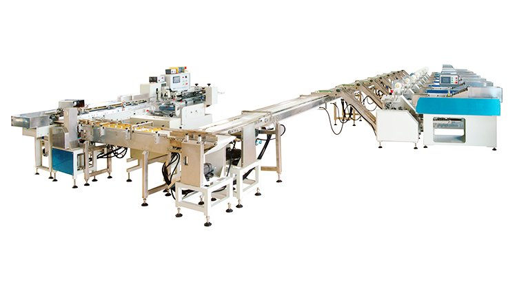 Multi-scale pillow shape packing machine
