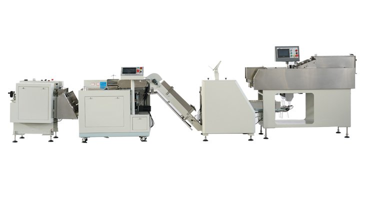 Common automatic paper packaging machine