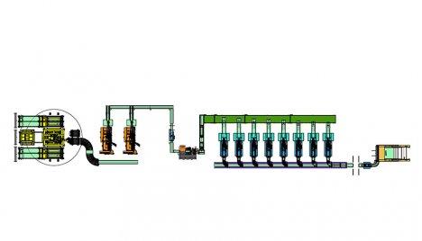 Noodle Equipment-Bundling Solid Bags production line