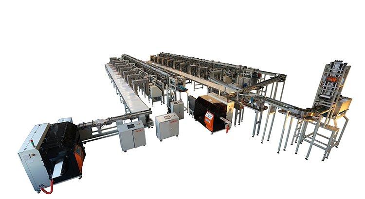 Multi-high-speed scale automatic bundling machine