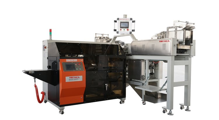 High-speed scale M-shape packaging line