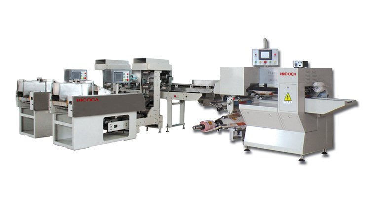 Full-automatic packaging machine with 2 scale