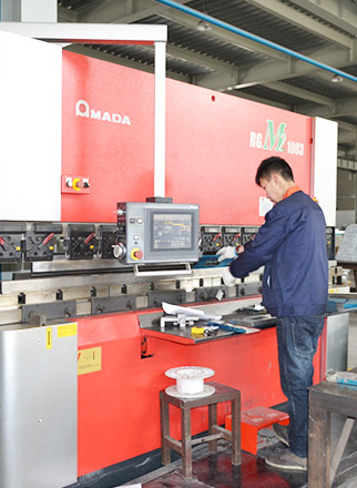 Processing workshop-amada CNC bending machine